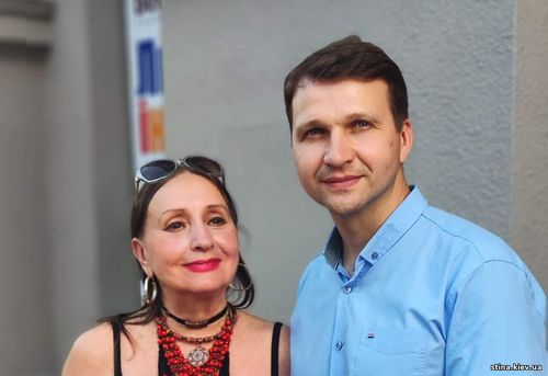 Лариса Кадочникова, Юрий Кухаренко