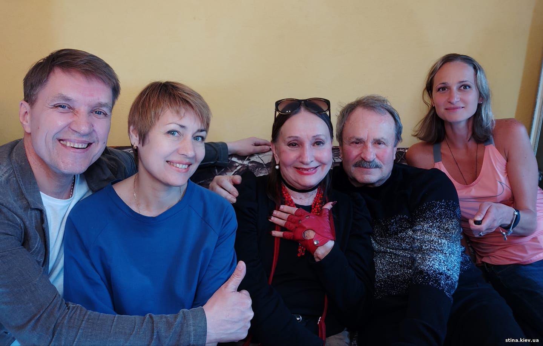 Лариса Кадочникова, Владимир Быстряков, Юрий Яковлев, Анастасия Правдивец