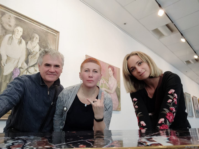Анастасия Правдивец, Наталия Костылева, Виктор Зинченко, журнал стена,