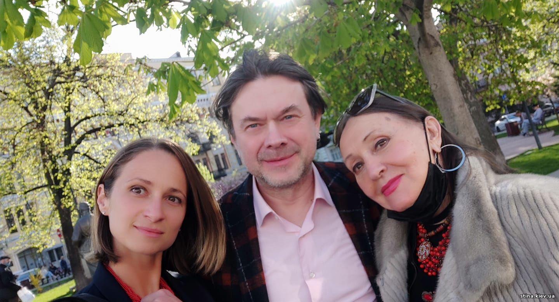 Анастасия Правдивец, Остап Ступка, Лариса Кадочникова