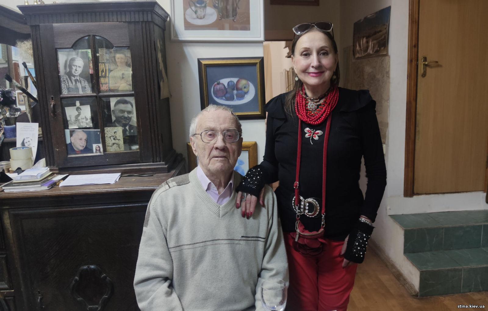 Николай Павлович Рапай и Лариса Валентиновна Кадочникова