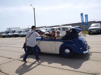 Журнал Стена на фестивале OLD CAR LAND 2017