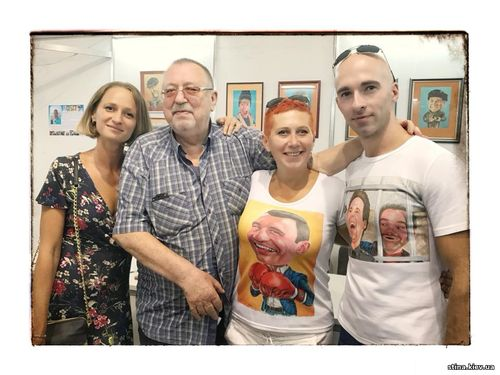 Анастасия Правдивец, Наталия Костылева, Виктор Киркевич, журнал Стена
